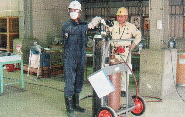 ガス溶接技能講習